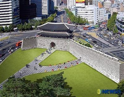 """국보 1호 숭례문 """"우리 인력.기술로 완벽 복원 될 것"""""""